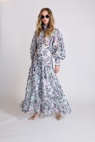 שמלת מקסי ריאנה לבן