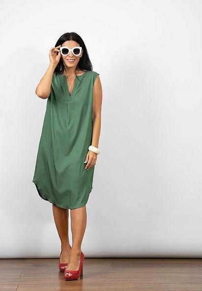 שמלת מיילי ירוקה