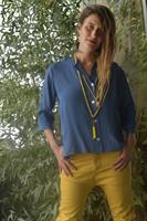 חולצת קרדיגן מג'ינס טנסל