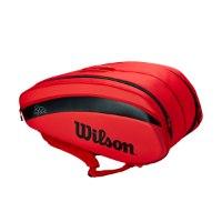 תיק טניס רוג'ר פדרר Wilson Roger Federer DNA 12 Pack Tennis Bag