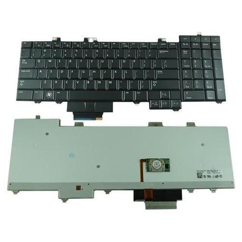 החלפת מקלדת למחשב נייד דל Dell Precision M6400 Keyboard , NSK-DE101 F759C