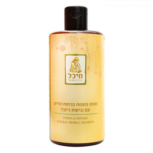 שמפו מיכל סבון טבעי