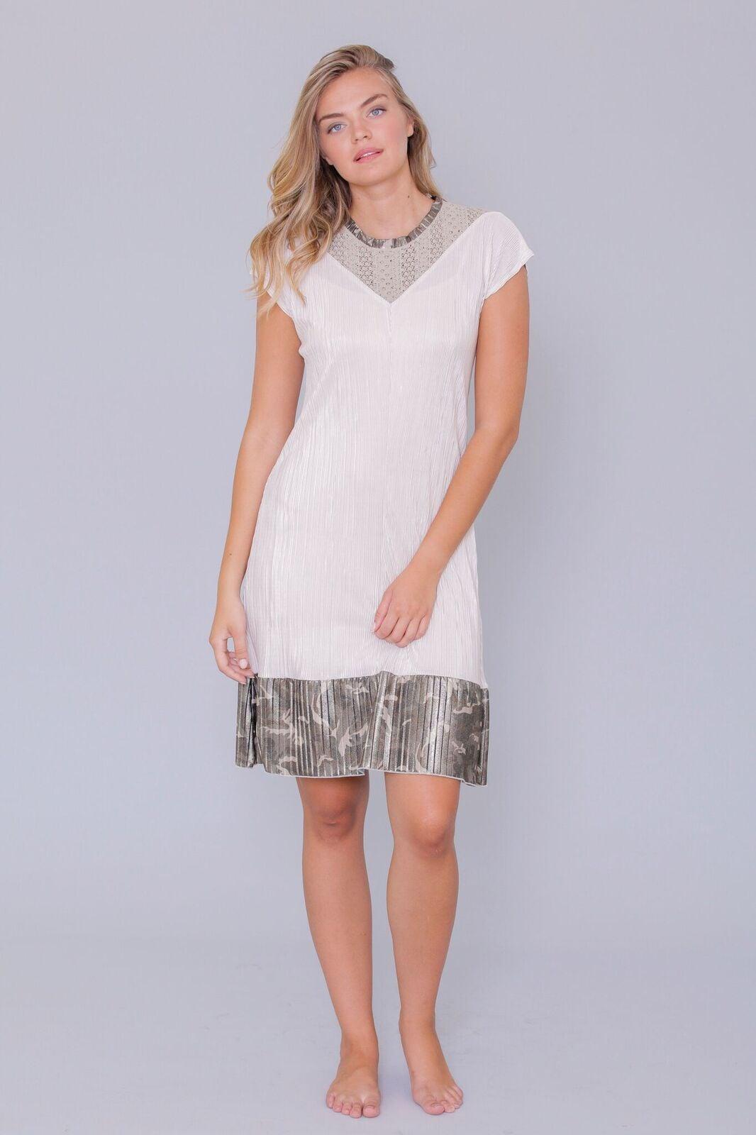 שמלת לואיזה שרוול קצר