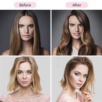 2ב1 מייבש שיער+ מברשת מובנת לייבוש סלסול והחלקת השיער 2020