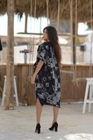 שמלת משחק בשחור OVER SIZE