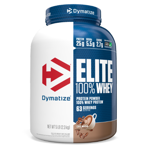 "אבקת חלבון דיימטייז עלית 2.3 ק""ג - Dymatize Elite Whey Protein"