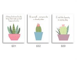 סט של 3 תמונות השראה מעוצבות לתינוקות, לסלון, חדר שינה, מטבח, ילדים - תמונות השראה  033
