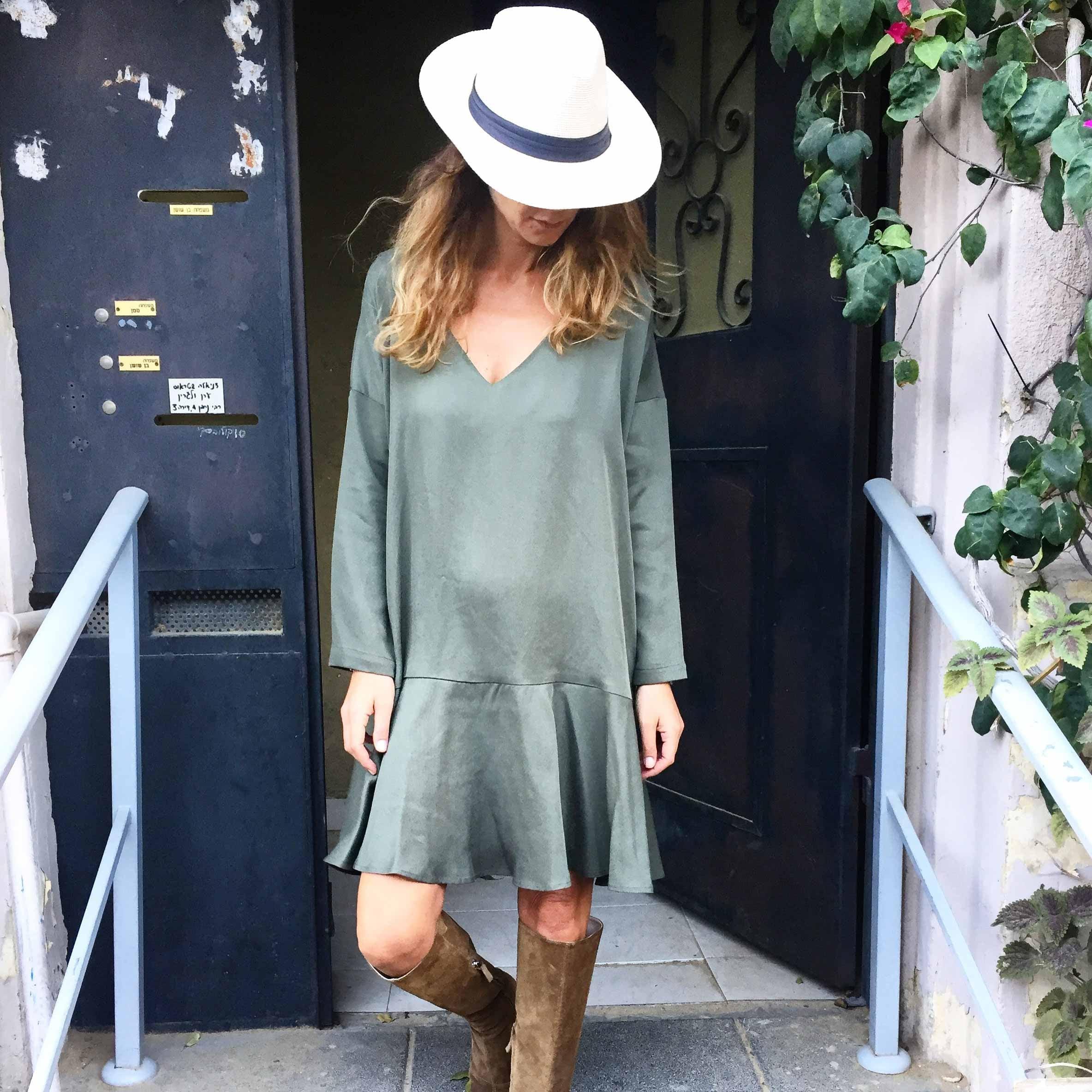 שמלת סיארה ירוקה