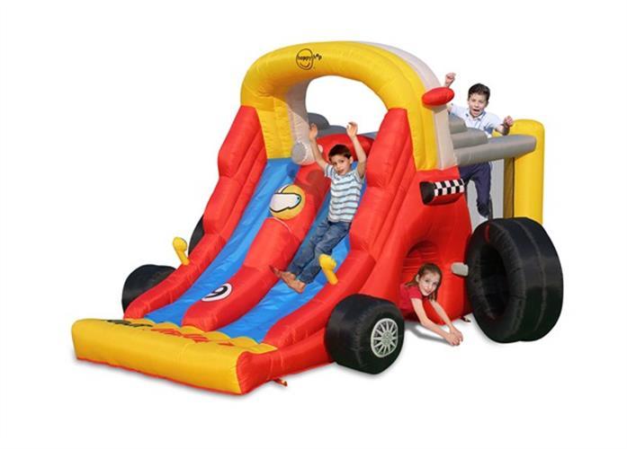 מתקן קפיצה מכונית פורמולה 1 הפי הופ - 9026 - Super Formula 1 - Combo Happy Hop