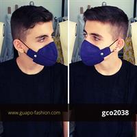 מסכת בד מעוצבת blue mask
