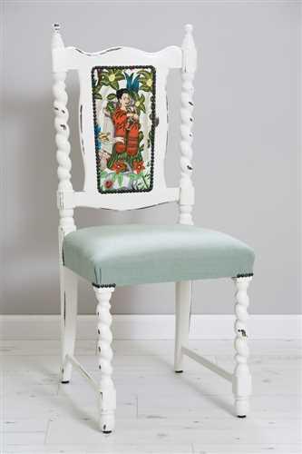 כסא פרידה קאלו תכלת