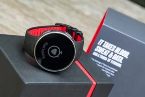 שעון מולטי ספורט Polar Vantage V Titan - צבע שחור/אדום
