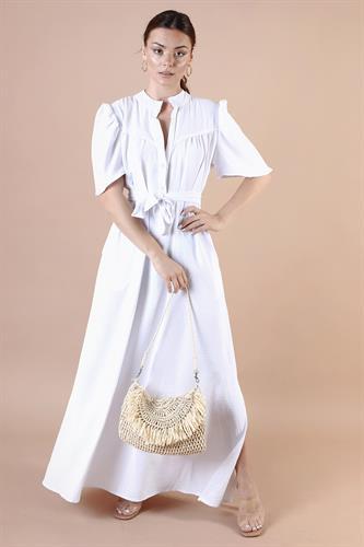 שמלת לילוש לערב לבנה