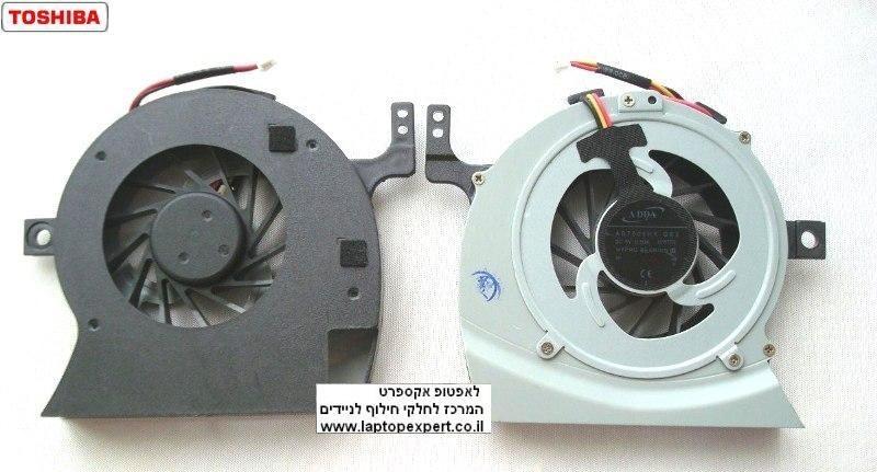 מאוורר למחשב נייד טושיבה Toshiba Satellite L645 / L600 / L600D / L630 / L640 / C600D / C640 / Cpu Fan 3ITE2TA0I40 / AB7805HX-GB3