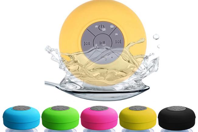 רמקול Bluetooth עמיד במים למקלחת