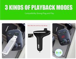 משדר fm בלוטוס איכותי לרכב+דיבורית