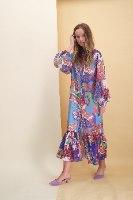 שמלת שיפון ג'ייסי ארוכה