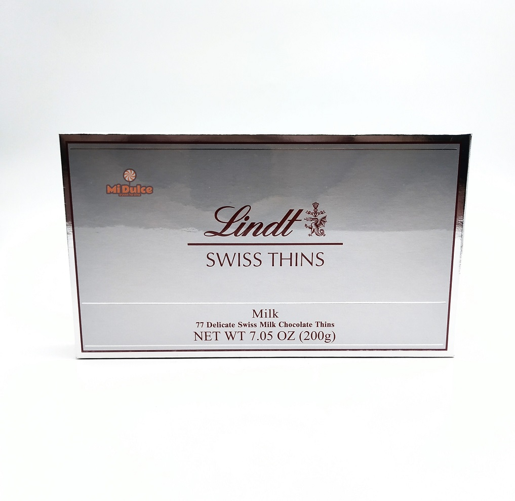 Lindt Swiss Thins Milk