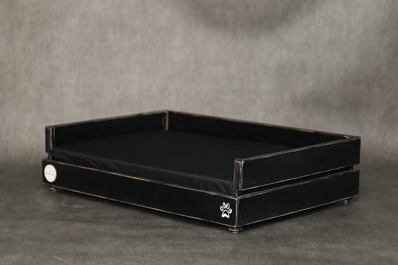 מיטה לכלב- דינגו M שחור ווש