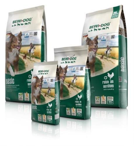 """בווידוג בייסיק 25 ק""""ג מזון יבש לכלבים"""
