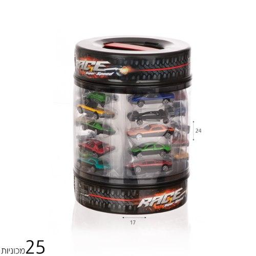 סט 25 מכוניות מירוץ