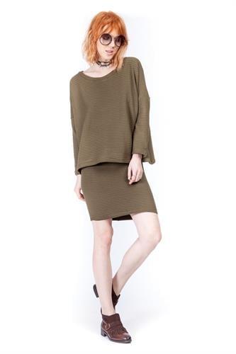 חצאית וונדי  ירוק