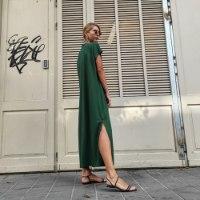 שמלת NAM - ירוק דשא
