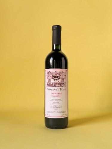 TAVKVERI, יין אדום טבעי