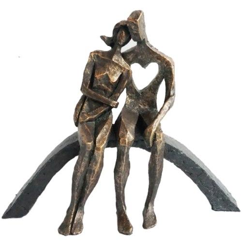 """פסל אומנותי """"אהבת אמת"""""""