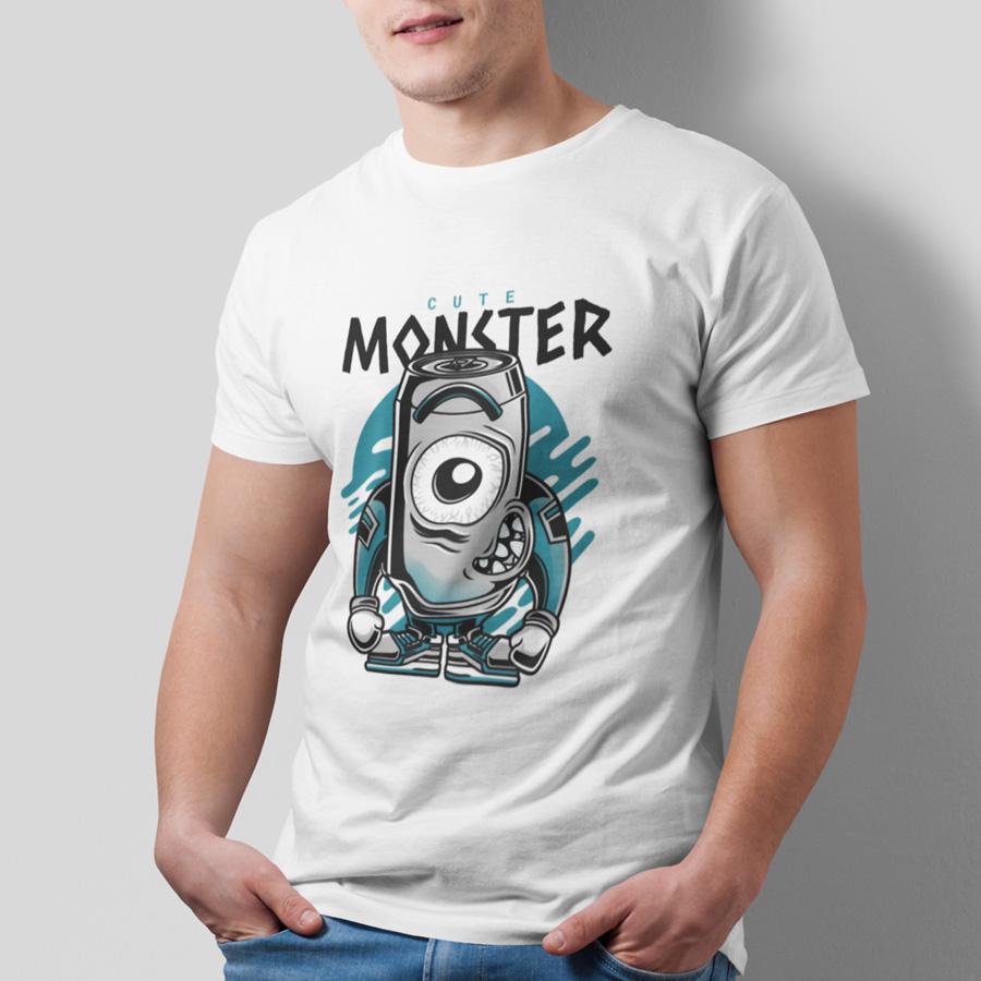 חולצת טי - Cute Monster