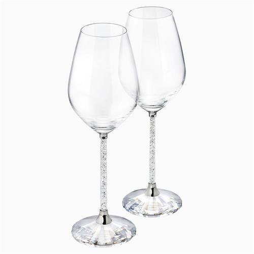 כוסות SWAROVSKI  CRYSTALLINE WINE GLASSES (SET OF 2)