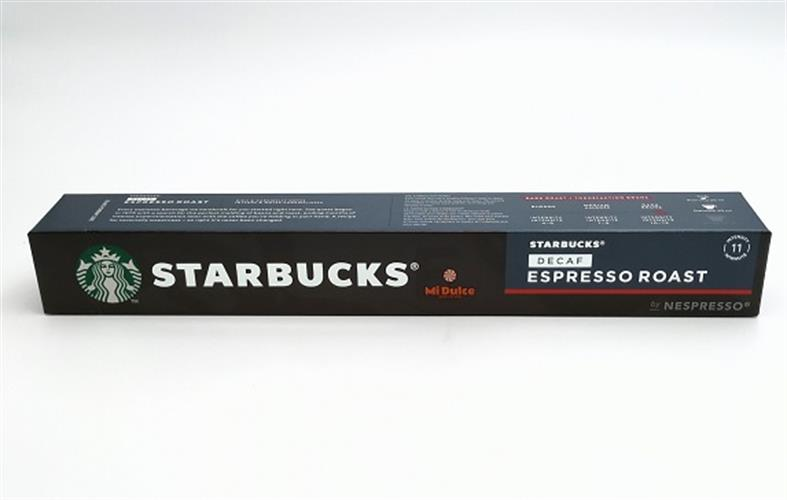 קפסולות סטארבקס נספרסו ללא קפאין Decaf Espresso Roast