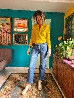 ג'ינס wrangler נייס ביותר מידה L