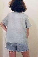 חולצת מכופתרת שילה ירוק