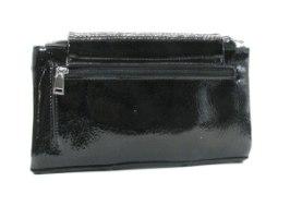ארנק אופנה BIAGINI פירנצה שחור לק