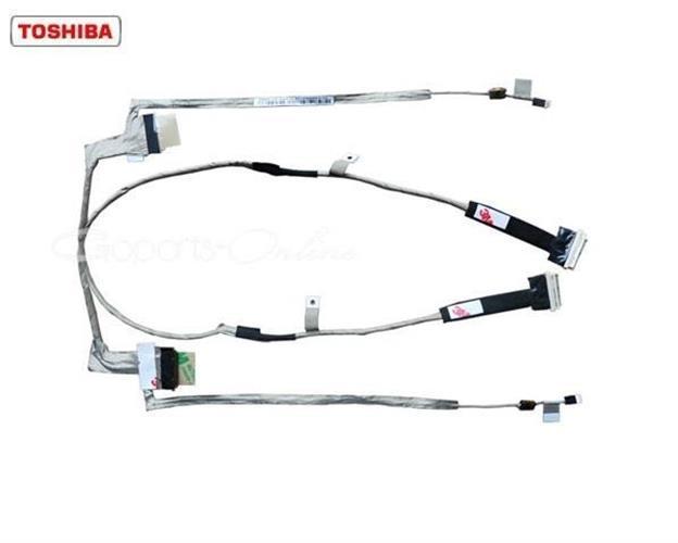 כבל מסך / צמת מסך / רתמת מסך למחשב נייד טושיבה Toshiba L500 L500d L505 L505d Lcd Cable DC02000UC10