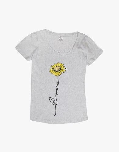 חולצה נשים  פרח