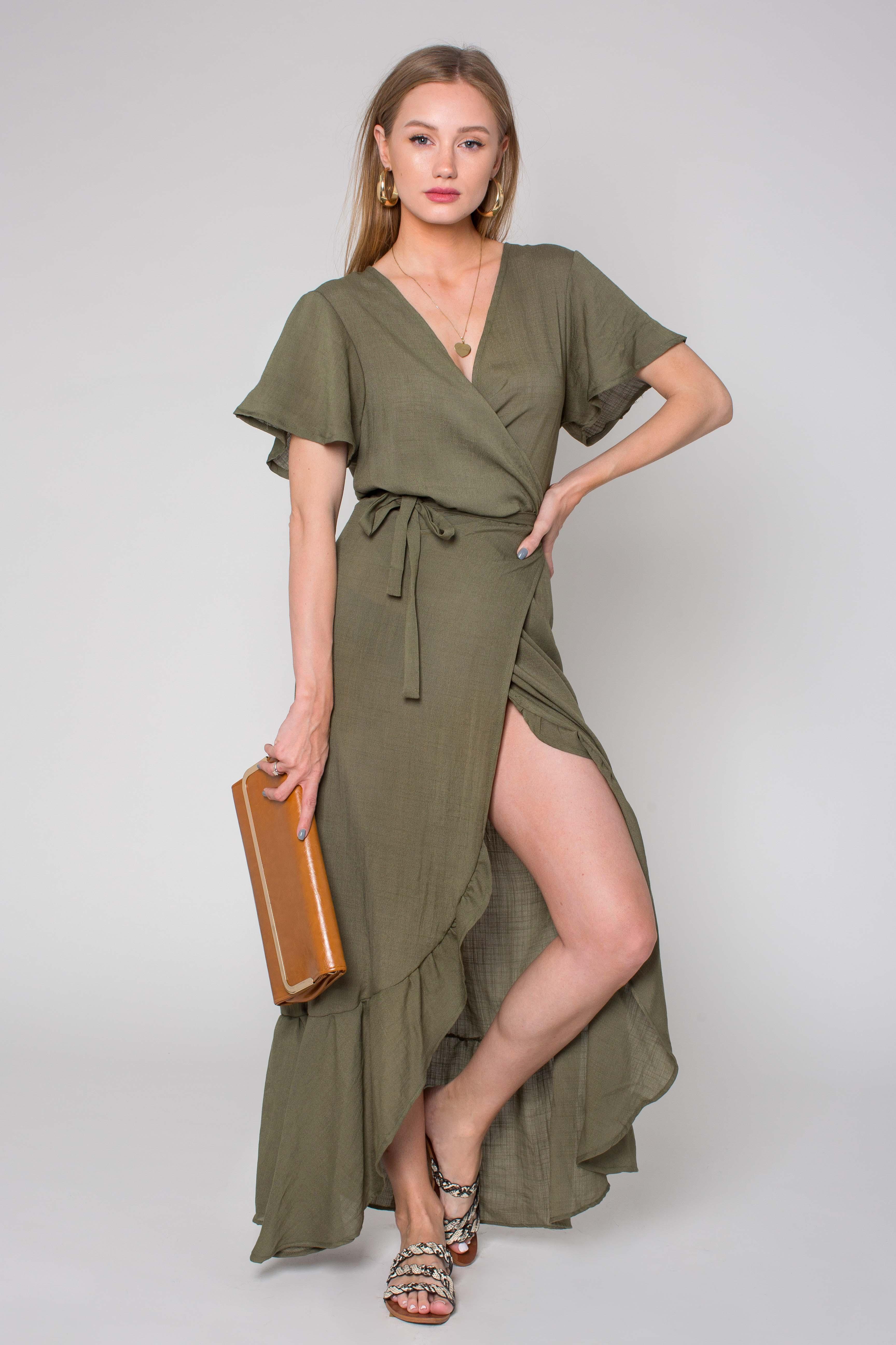 שמלה מעטפה וולנים