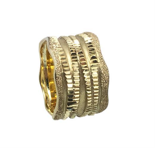 טבעת נישואין נשים זהב 14 קארט MY051700118533