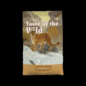 """אוכל לחתולים טייסט אוף דה ווילד סלמון מעושן 2 ק""""ג - TASTE OF THE WILD CAT SMOKE SALMON"""
