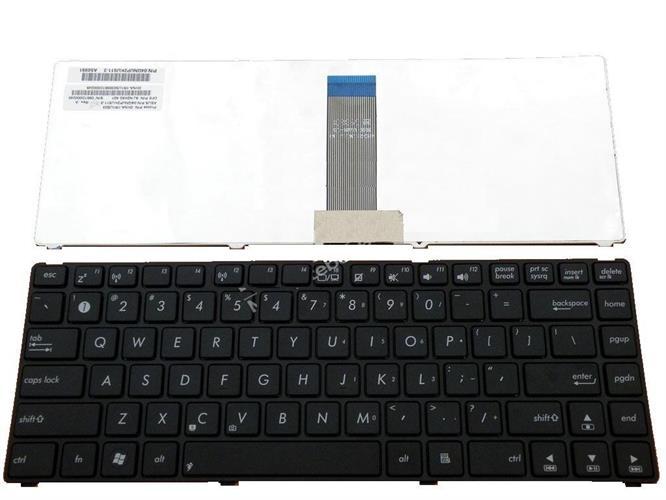 החלפת מקלדת למחשב נייד אסוס ASUS BLACK FRAME 12