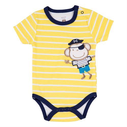 בגד גוף 7119 צהוב