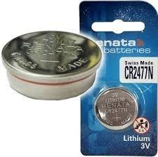 סוללות ליטיום RENATA LITHIUM CR2477N רנטה 2 יחידות