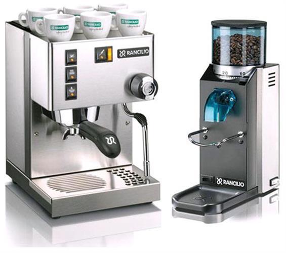 מכונת אספרסו Rancilio Silvia+Rocky