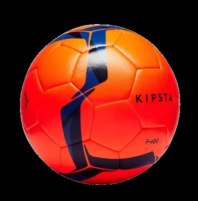 כדור כדורגל F100 Hybrid מידה 5 כתום