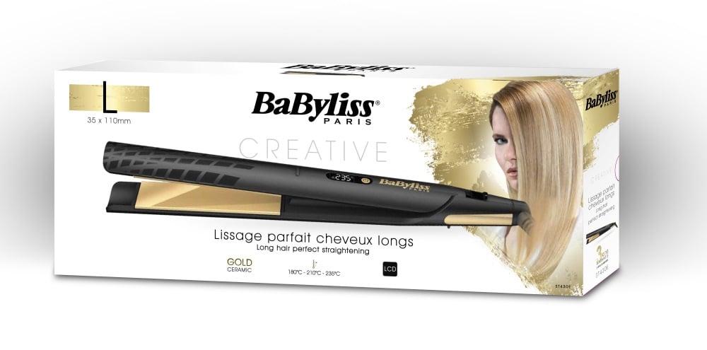 BaByliss מחליק שיער רחב דגם ST430