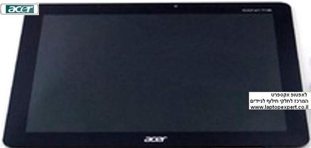 מסך כולל יחידת טא'צ לטאבלט אייסר Acer Iconia Tab A510 LCD Screen Panel Display