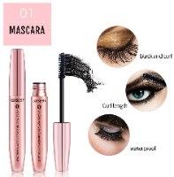 סט מסקרות לעיבוי והארכת הריסים- S.mascara