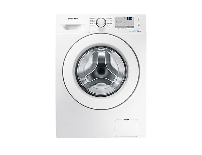 """מכונת כביסה פתח קידמי Samsung WF90F5E0W2W 9 ק""""ג סמסונג"""