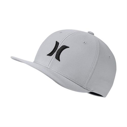 Hurley Dri Fit One and Only Hat  Grey
